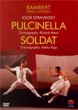 STRAVINSKY - Rambert Dance C - Pulcinella, ballet en 1 acte, pour sopran