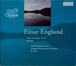 ENGLUND - Klas - Concerto pour piano n°1