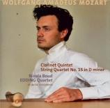 MOZART - Edding Quartet - Quintette pour clarinette et cordes en la maje