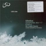 SIBELIUS - Davis - Kullervo symphonie, pour voix et orchestre op.7