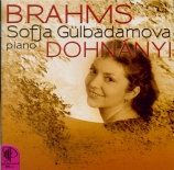 BRAHMS - Gülbadamova - Klavierstücke (4) pour piano op.119