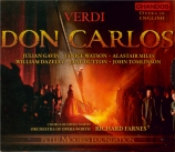 VERDI - Farnes - Don Carlo, opéra (version italienne) (Opera in English) Opera in English