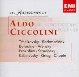 TCHAIKOVSKY - Ciccolini - Concerto pour piano n°1 en si bémol mineur op