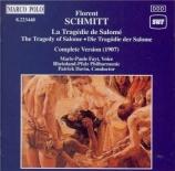 SCHMITT - Davin - La tragédie de Salomé op.50 (Complete Version (1907)) Complete Version (1907)
