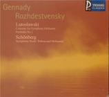 LUTOSLAWSKI - Rozhdestvensky - Concerto pour orchestre