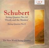 SCHUBERT - New World Strin - Quatuor n°14 'La jeune fille et la mo