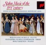 Musique de salon du XIXème siècle