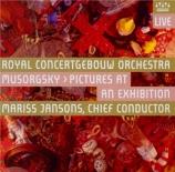 MOUSSORGSKY - Jansons - Tableaux d'une exposition : orchestration de Rav