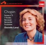 CHOPIN - Laval - Berceuse pour piano en ré bémol majeur op.57