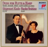 Duos pour flûte et harpe