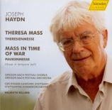 HAYDN - Rilling - Theresienmesse, pour solistes, choeur mixte, orchestre