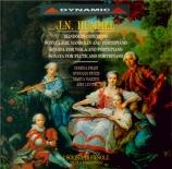 HUMMEL - Paszkowski - Sonate pour piano avec alto op.5 n°3