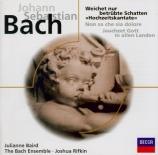 BACH - Rifkin - Cantate BWV 202 'Weichet nur, betrübte Schatten'