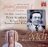 BACH - Schreier - Schwingt freudig euch empor, cantate pour solistes, ch