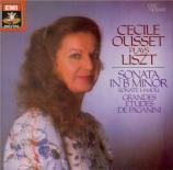 LISZT - Ousset - Sonate en si mineur, pour piano S.178