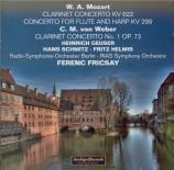 MOZART - Fricsay - Concerto pour clarinette et orchestre en la majeur K