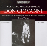 MOZART - Walter - Don Giovanni (Don Juan), dramma giocoso en deux actes Live MET 7 - 3 - 1942