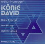 König David, chanté et récité en allemand