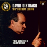 David Oistrakh : 100th birthday edition