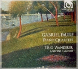 FAURE - Trio Wanderer - Quatuor avec piano n°1 en ut mineur op.15