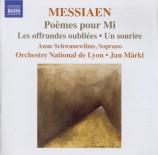 MESSIAEN - Märkl - Poèmes pour Mi