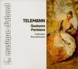 TELEMANN - Freiburger Baro - Quatuor pour flûte traversière, violon, vio