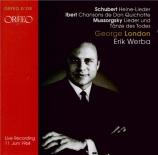 IBERT - London - Chansons de Don Quichotte, quatre mélodies pour voix ba Live Wien, 11 - 6 - 1964