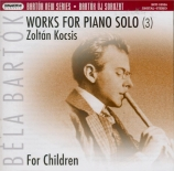 Works for piano solo vol.3