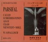 WAGNER - Sawallisch - Parsifal WWV.111 (live RAI Roma, 1970) live RAI Roma, 1970