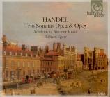 HAENDEL - Egarr - Sonate en trio, pour deux violons (viole de gambe ad l