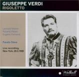VERDI - Cleva - Rigoletto, opéra en trois actes (Live MET 28 - 3 - 1959) Live MET 28 - 3 - 1959