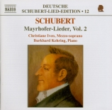 Mayrhofer Lieder Vol.2