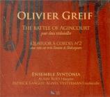 GREIF - Ensemble Synton - Sonate pour deux violoncelles 'The battle of A