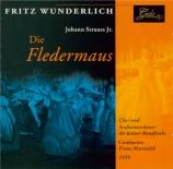 STRAUSS - Wunderlich - Die Fledermaus (La chauve-souris) RV.503 : extrai