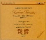 GIORDANO - Votto - Andrea Chénier (Live Scala di Milano, 8 - 1 - 1955) Live Scala di Milano, 8 - 1 - 1955