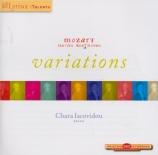 MOZART - Iacovidou - Neuf variations pour piano en ré majeur sur un thèm