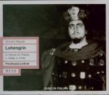 WAGNER - Leitner - Lohengrin WWV.75 live, RAI Milano le 08 - 09 - 1959 : chanté en italien