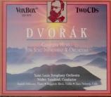 DVORAK - Firkusny - Concerto pour piano et orchestre en sol mineur op.33