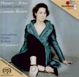 MOZART - Ruiten - Vorrei spiergarvi, o Dio, air pour soprano et orchestr