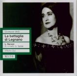 VERDI - Gui - La battaglia di Legnano, opéra en quatre actes Live Firenze 10 - 5 - 1959