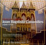 CABANILLES - Gonzales - Pièces d'orgue