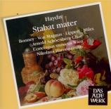 HAYDN - Harnoncourt - Stabat Mater, pour quatre solistes, chœur mixte, o