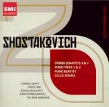 CHOSTAKOVITCH - Jerusalem Quart - Quatuor à cordes n°3 op.73