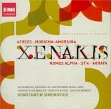 XENAKIS - Simonovitch - Atrés