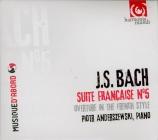 BACH - Anderszewski - Suite française n°5, pour clavier en sol majeur BW