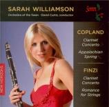 COPLAND - Williamson - Concerto pour clarinette