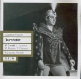 PUCCINI - Previtali - Turandot (Live RAI Milano 13 - 12 - 1958) Live RAI Milano 13 - 12 - 1958