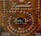 ROSENMÜLLER - Beyer - Beatus vir