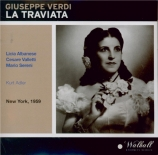 VERDI - Adler - La traviata, opéra en trois actes (Live MET 24 - 01 - 1959) Live MET 24 - 01 - 1959
