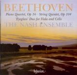 BEETHOVEN - Nash Ensemble - Quintette à cordes op.104 (arrangement du tr
